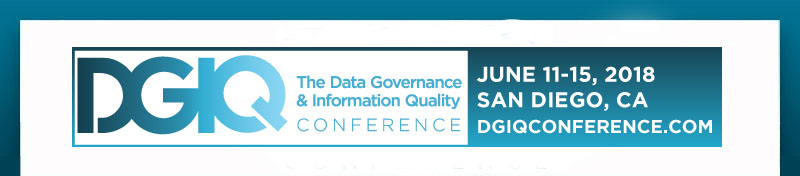 The Data Governance And Information Quality Conference June 11 15